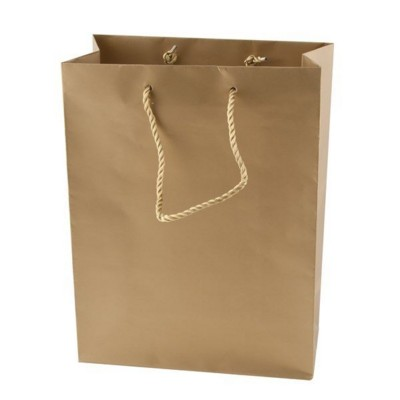 MATT LAMINATED PAPER BAG.