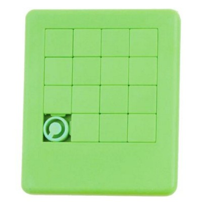 SLIDING PUZZLE GAME in Pale Green.