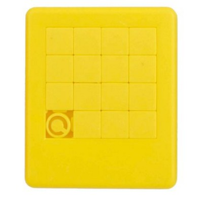 SLIDING PUZZLE GAME in Yellow.