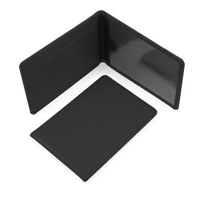 BLACK SEASON TICKET OR ID CARD CASE.