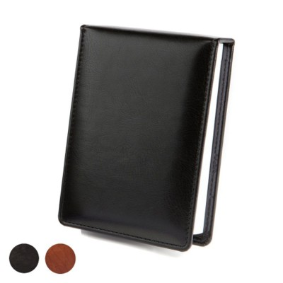 DELUXE DESK JOTTER in Richmond Nappa Leather.