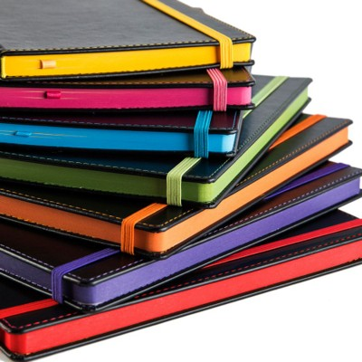 TRIM A5 NOTE BOOK with Contrast Colour.