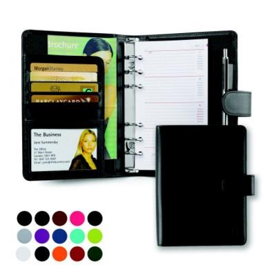 BELLUNO PU A5 PERSONAL ORGANIZER in Soft Touch Leatherette.