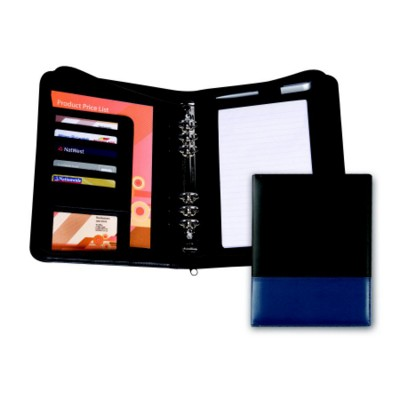 MONTANA PU ZIP PERSONAL ORGANIZER COVER with Two Tone Cover Design.