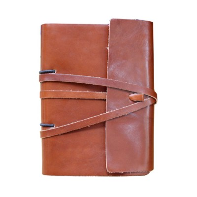 A5 ARTISAN LACE JOURNAL in Richmond Nappa Leather.