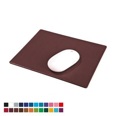 LEATHERETTE MOUSEMAT in Belluno PU Leather.