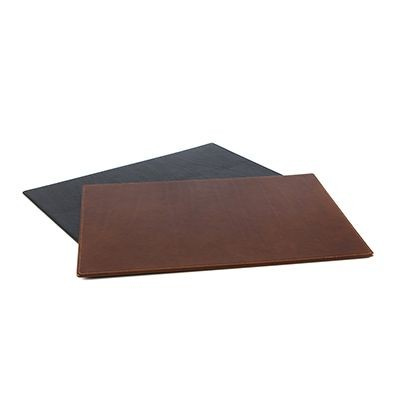 LEATHER DESK PAD in Richmond Nappa Leather.