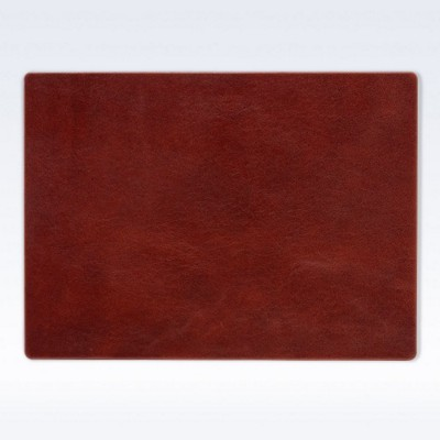 LARGE LEATHER DESK PAD in Richmond Nappa Leather.