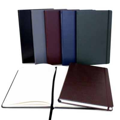 A5 CASEBOUND NOTE BOOK in Hampton Finecell Leather.