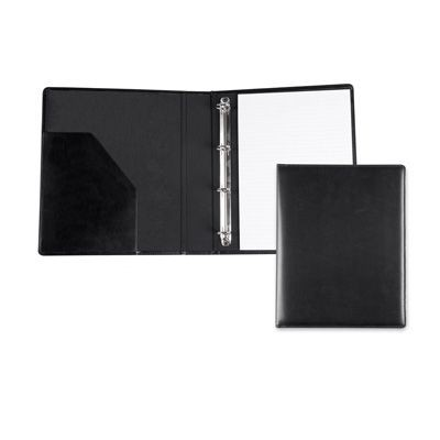 RECYCLED ELEATHER A4 RING BINDER.