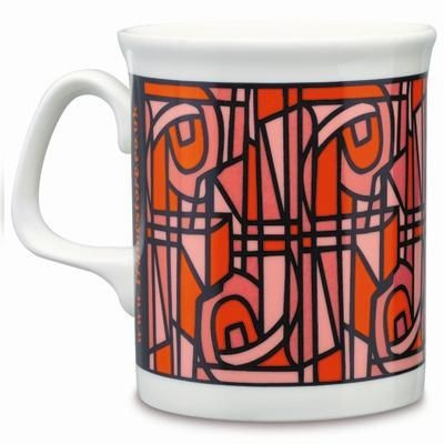 MARLBOROUGH BONE CHINA MUG in White.