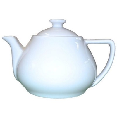 16OZ TEA POT in White.