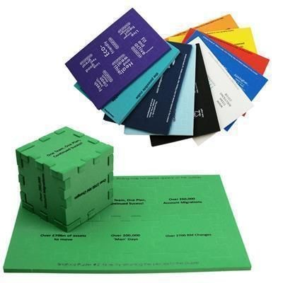 SNAFOOZ MEDIUM FOAM CUBE PUZZLE.