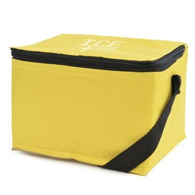 GRIFFIN COOL BAG in Yellow.