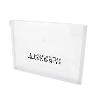 HYDE DOCUMENT FOLDER in Translucent.