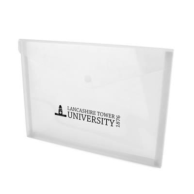 HYDE DOCUMENT FOLDER in Frosted White.