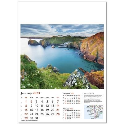 BRITAIN IN PICTURES WALL CALENDAR.