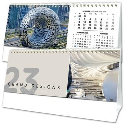 GRAND DESIGN DESK TOP CALENDAR.