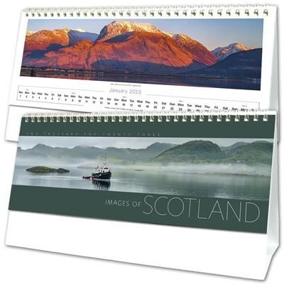 IMAGES OF SCOTLAND DESK CALENDAR.