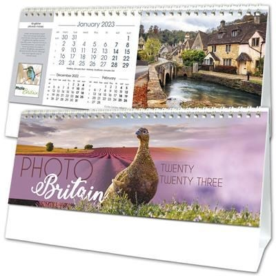 PHOTO BRITAIN DESK CALENDAR.