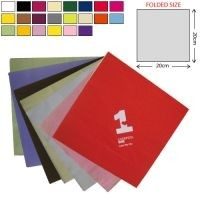 COLOUR DINNER NAPKIN 3PLY 40X40CM.
