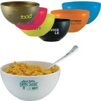 REUSABLE PLASTIC BOWL.