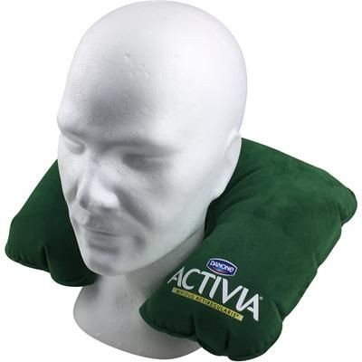 INFLATABLE TRAVEL PILLOW.