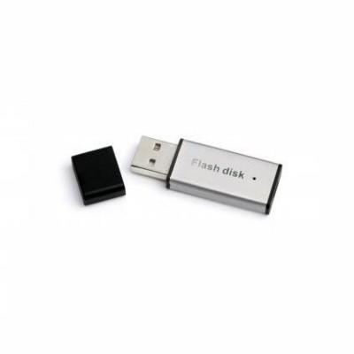 MINI METAL USB MEMORY STICK in Black & Silver.