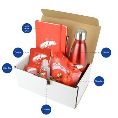 CORPORATE GIFT PACK PREMIUM in Red.