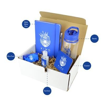 CORPORATE GIFT PACK in Blue.