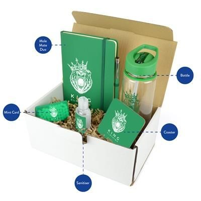 CORPORATE GIFT PACK in Green.