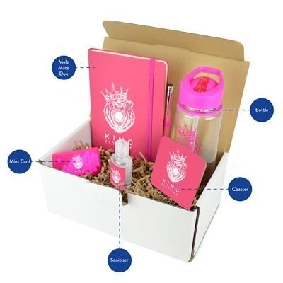 CORPORATE GIFT PACK in Pink.