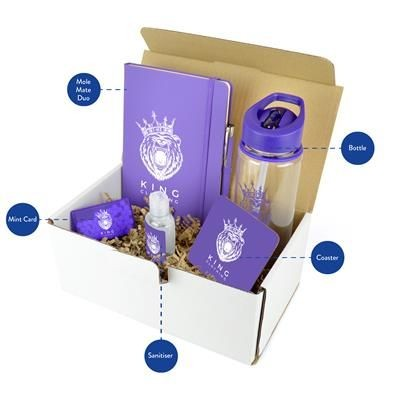 CORPORATE GIFT PACK in Purple.