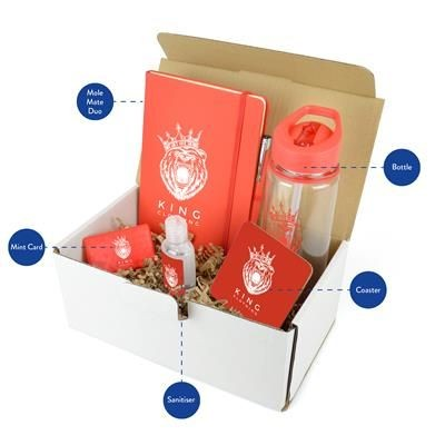 CORPORATE GIFT PACK in Red.