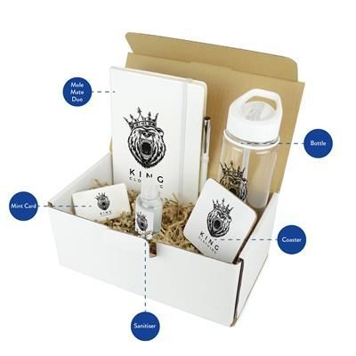 CORPORATE GIFT PACK in White.