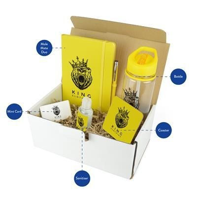 CORPORATE GIFT PACK in Yellow.