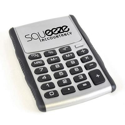 GAUSS CALCULATOR in Silver.