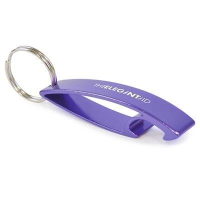 BOTTLE OPENER in Purple.