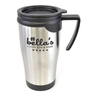 DALI TRAVEL MUG in Silver.