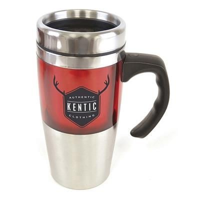 REMBRANDT TRAVEL MUG in Red.