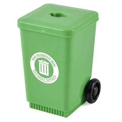 WHEELIE BIN in Green.