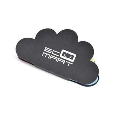 CLOUD STICKY NOTES in Black.