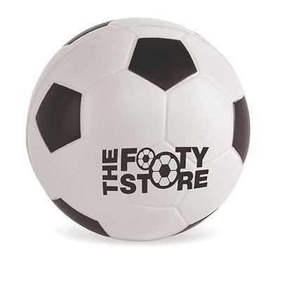 FOOTBALL STRESS BALL in Black & White.