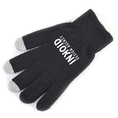 SMART GLOVES in Black.