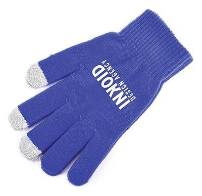 SMART GLOVES in Blue.