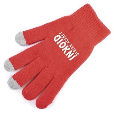 SMART GLOVES in Red.