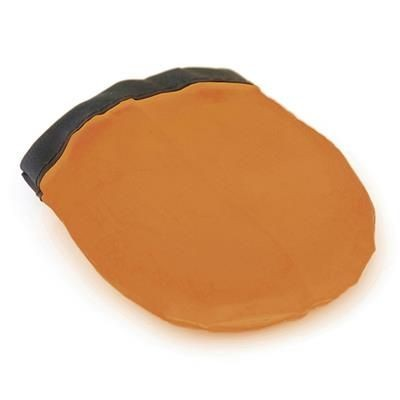FOLDING FLYING ROUND ROUND DISC in Amber.