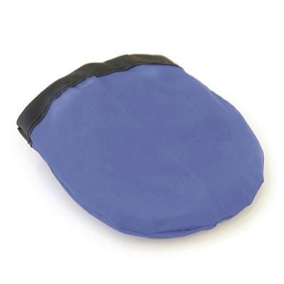 FOLDING FLYING ROUND ROUND DISC in Blue.