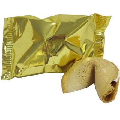 FORTUNE COOKIE Individually Wrapped Fortune Cookie Containing Your Own Personalised Bespoke Message.