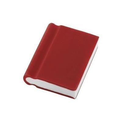 BOOK ERASER in Red.
